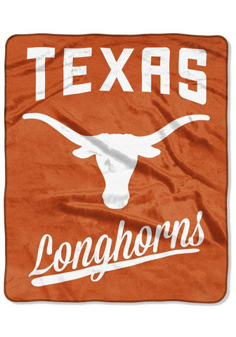 Northwest 50x60 Plush Texas Longhorns