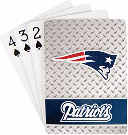 Casey's Distributing Playing Cards New England Patriots