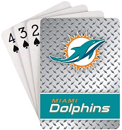 Casey's Distributing Playing Cards Miami Dolphins