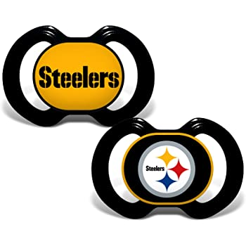 Casey's Distributing Pacifier Set Pittsburgh Steelers