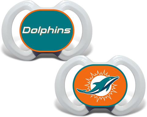 Casey's Distributing Pacifier Set Miami Dolphins