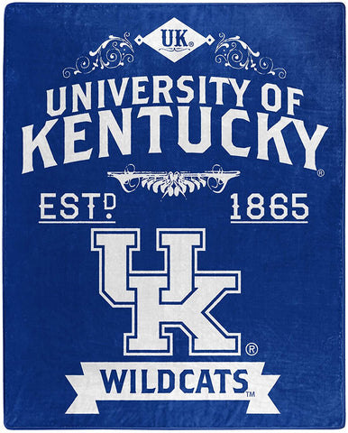 Northwest 50x60 Plush Kentucky Wildcats