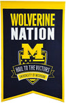 Winning Streak Nation Banner Michigan Wolverines