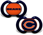 Casey's Distributing Pacifier Set Chicago Bears