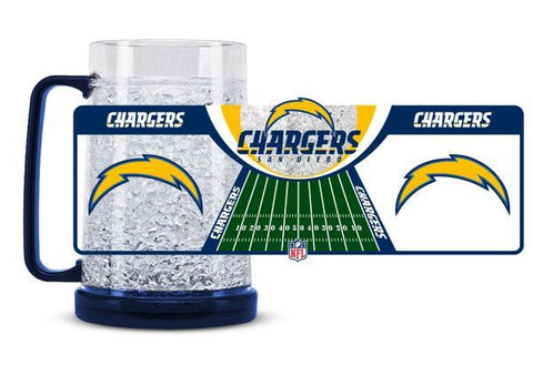 Duck House Crystal Freezer Mug Los Angeles Chargers