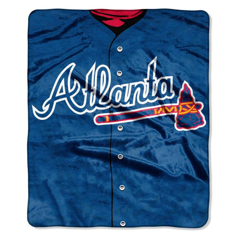 Northwest 50x60 Plush Atlanta Braves