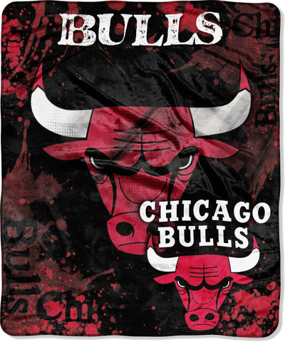 Northwest 50x60 Plush Chicago Bulls