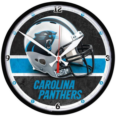 Wincraft Round Clock Carolina Panthers