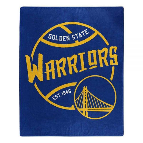 Northwest 50x60 Plush Golden State Warriors