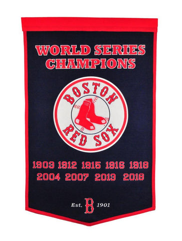 Winning Streak Dynasty Banner Boston Red Sox
