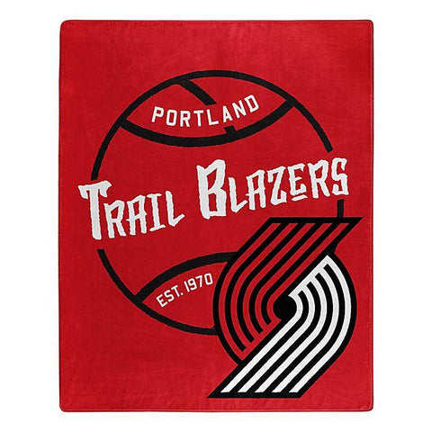 Northwest 50x60 Plush Portland Trail Blazers