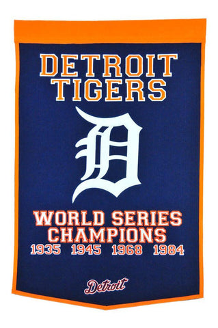 Winning Streak Dynasty Banner Detroit Tigers