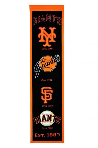 Winning Streak Heritage Banner San Francisco Giants