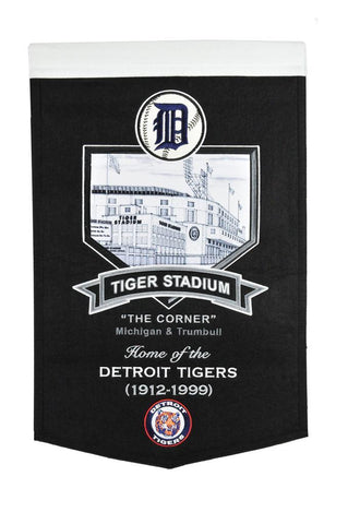 Winning Streak Stadium Banner Detroit Tigers