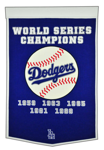 Winning Streak Dynasty Banner Los Angeles Dodgers