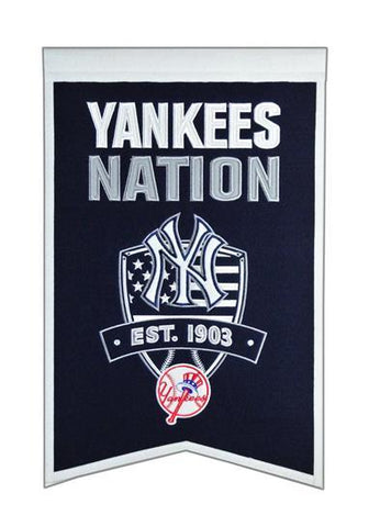 Winning Streak Nation Banner New York Yankees