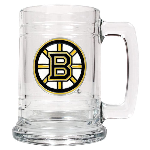 Great American Glass Beer Stein Boston Bruins