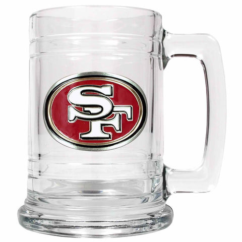 Great American Glass Beer Stein San Francisco 49ers