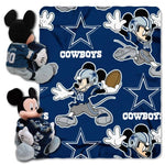 Northwest Mickey Mouse Blanket Combo Dallas Cowboys