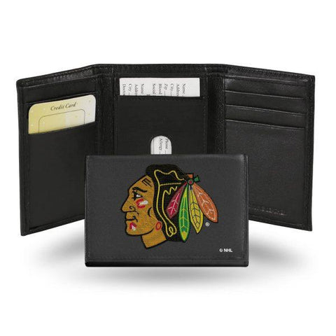 Rico Leather Wallet Chicago Blackhawks