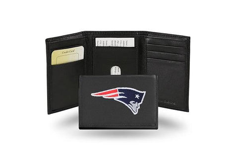 Rico Leather Wallet New England Patriots
