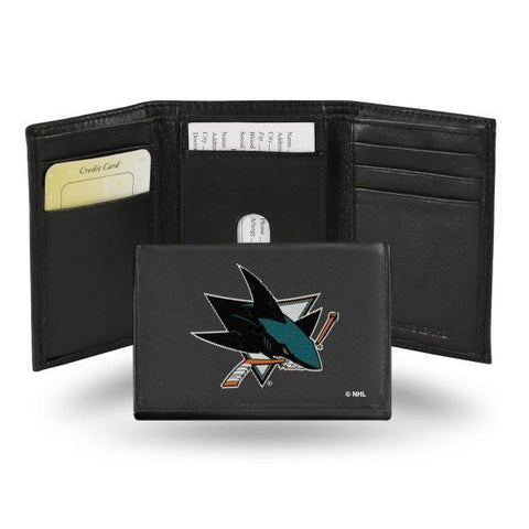 Rico Leather Wallet San Jose Sharks