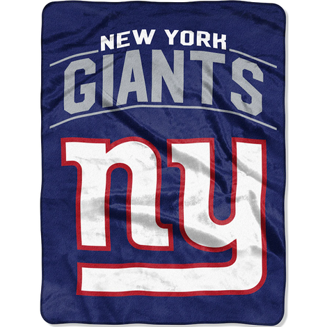 Northwest 60x80 Plush New York Giants