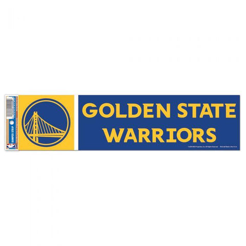 Wincraft Bumper Sticker Golden State Warriors