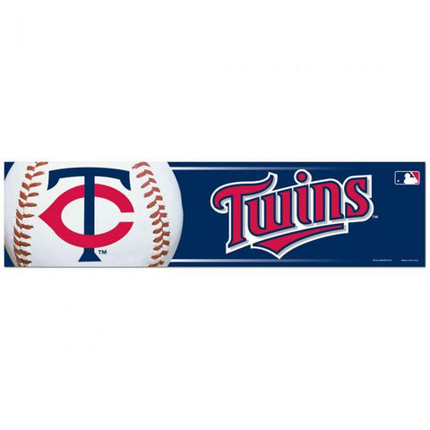 Wincraft Bumper Sticker Minnesota Twins