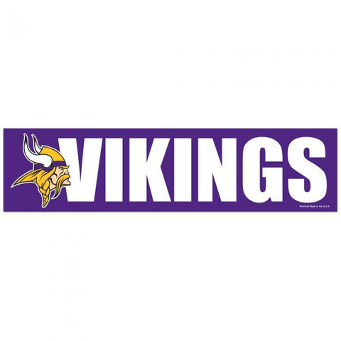 Wincraft Bumper Sticker Minnesota Vikings