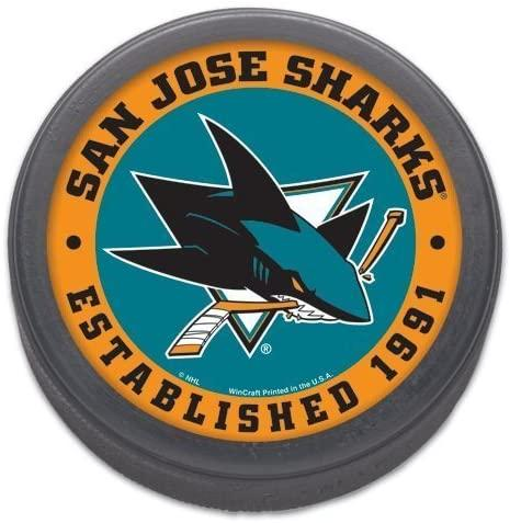 Wincraft Collectible Hockey Puck San Jose Sharks