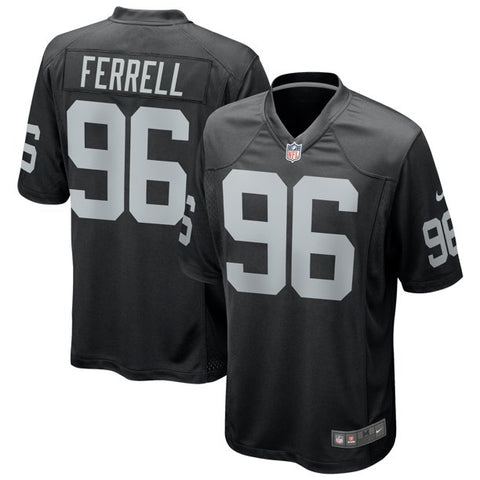 Nike Las Vegas Raiders Game Home Jersey - Clelin Ferrell