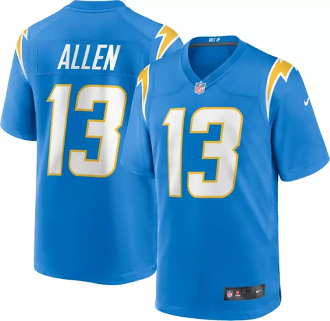 Nike Los Angeles Chargers Youth Game Jersey - Keenan Allen