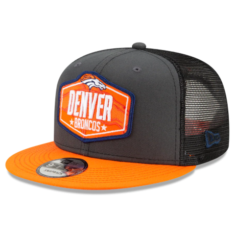 New Era 2021 NFL Draft Snapback - Denver Broncos