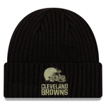 New Era 2020 Salute to Service Knit Hat - Cleveland Browns