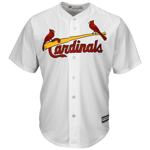 Majestic St. Louis Cardinals Home White Replica Jersey