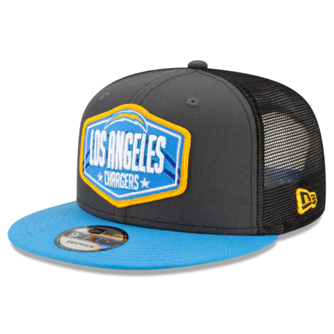 New Era 2021 NFL Draft Snapback - Los Angeles Chargers