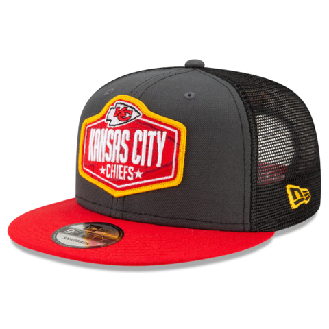 New Era 2021 NFL Draft Snapback - Kansas City Chiefs