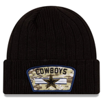 New Era 2020 Salute to Service Knit Hat - Dallas Cowboys