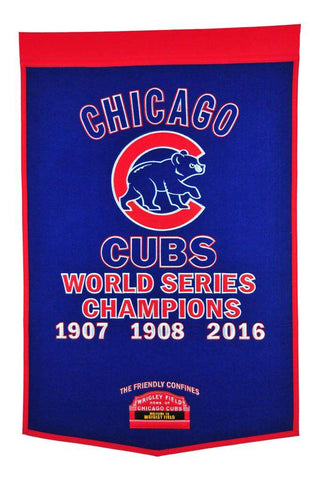 Winning Streak Dynasty Banner Chicago Cubs