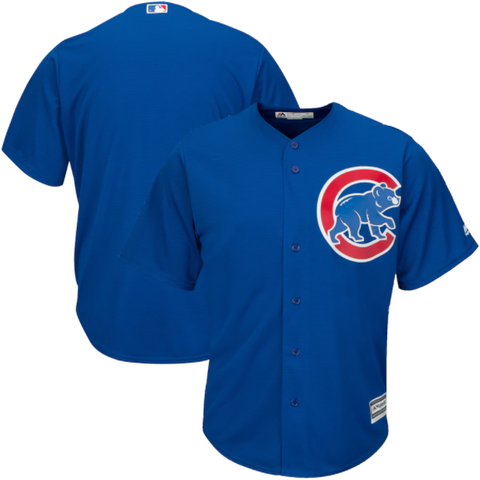 Majestic Chicago Cubs Alternate Blue Replica Jersey