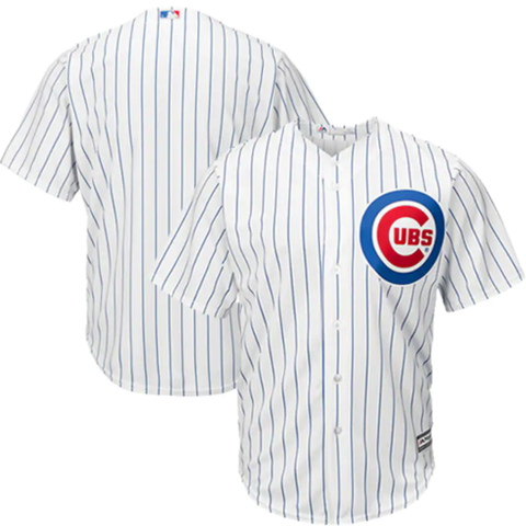 Majestic/Nike Chicago Cubs Home White Replica Jersey