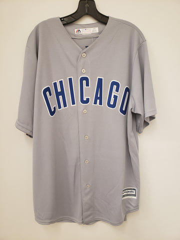 Majestic Chicago Cubs Road Grey Replica Jersey