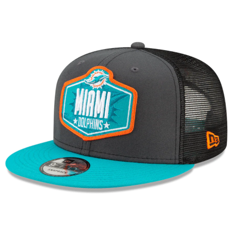 New Era 2021 NFL Draft Snapback - Miami Dolphins