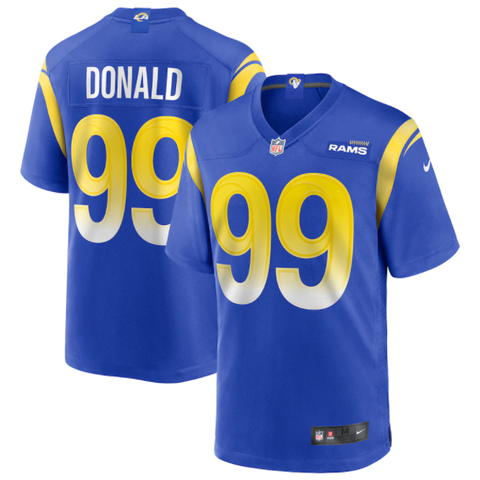 Nike Los Angeles Rams Home Game Jersey - Aaron Donald