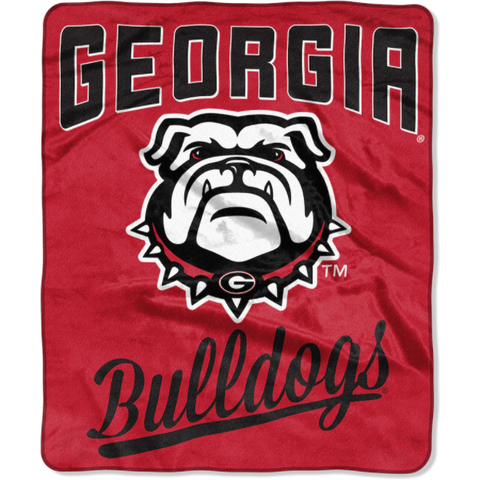 Northwest 50x60 Plush Georgia Bulldogs