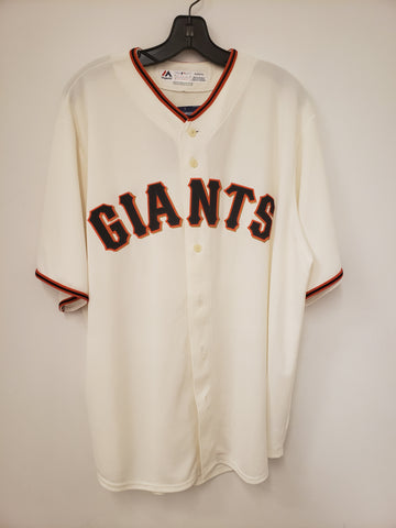 Majestic San Francisco Giants Home Cream Replica Jersey