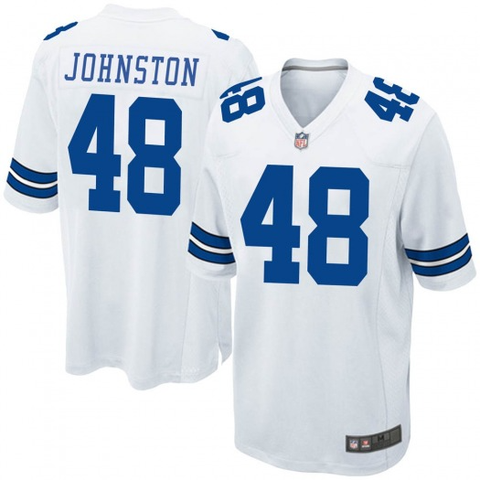 Nike Dallas Cowboys Legends White Game Jersey - Daryl Johnston