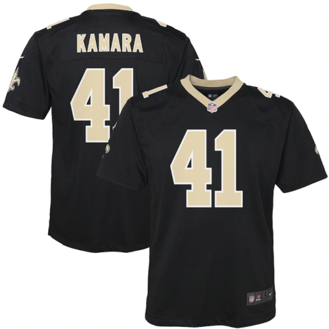 Nike New Orleans Saints Youth Game Jersey - Alvin Kamara