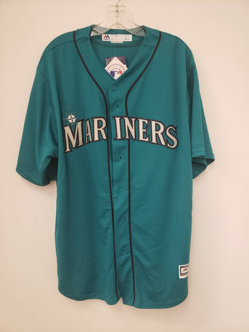 Majestic Seattle Mariners Alternate Aqua Replica Jersey